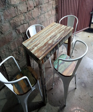 Industrial Metal Chair used for office and home use