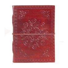 New Antique flap leather journal/notebook/diary for gift/promotion