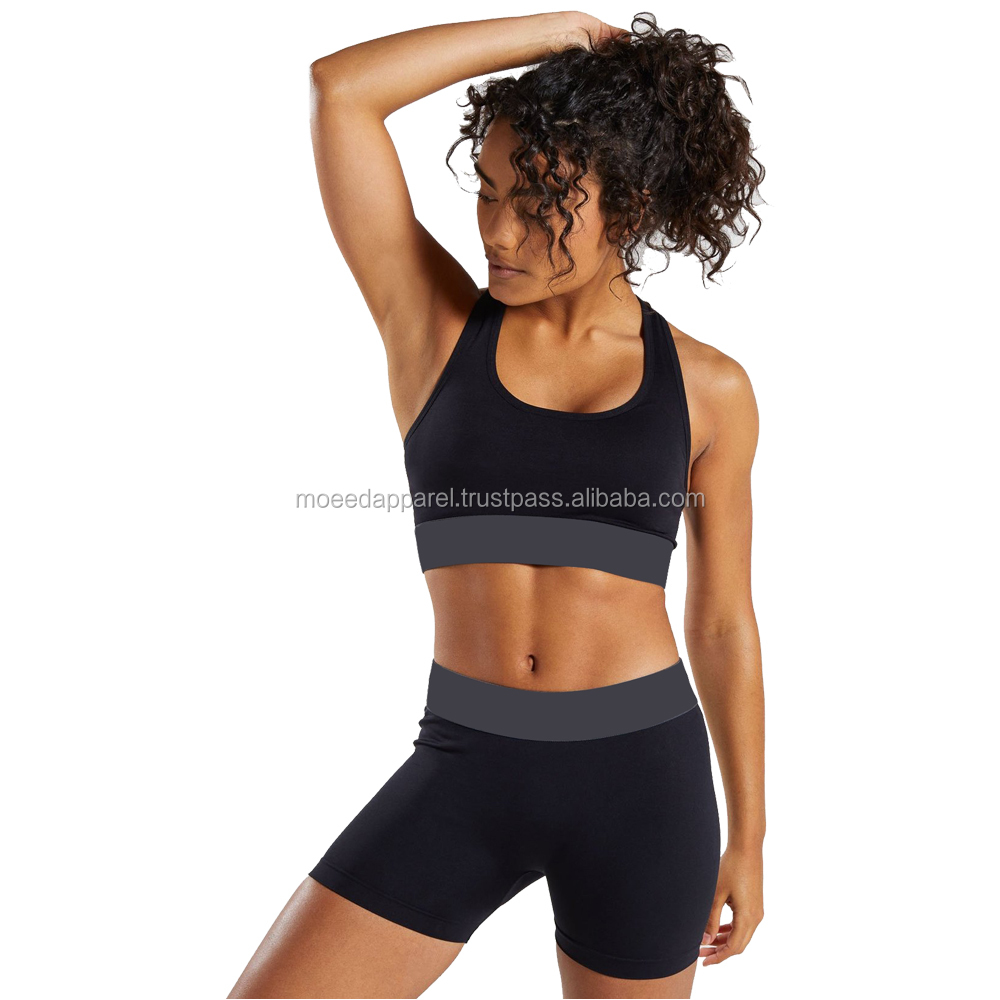 Wholesale Custom Women Mesh Yoga Bra Tops Padded Sports Bra Sexy Lady New Bra