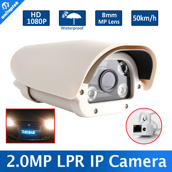 Car number plate reader LPR Camera