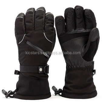 Customized Men Winter Warm Skiing Snow Gloves