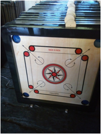 "CARROM BOARD SMALL 1.5"" BORADER - 2201"