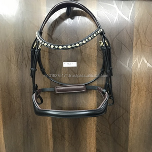 Ultra Strong Pvc Coated Webbing Jumping Horse Bridle