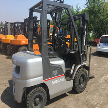 Original Japan made used nissan 2.5t forklift in Shanghai stock