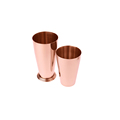 Hot Sale Private Label Copper Plated High Grade Stainless Steel Customized Boston Cocktail Bar Shaker