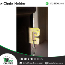 Widely Selling Metal Chain Holder to Attach Sleeves of Garbage Chute System