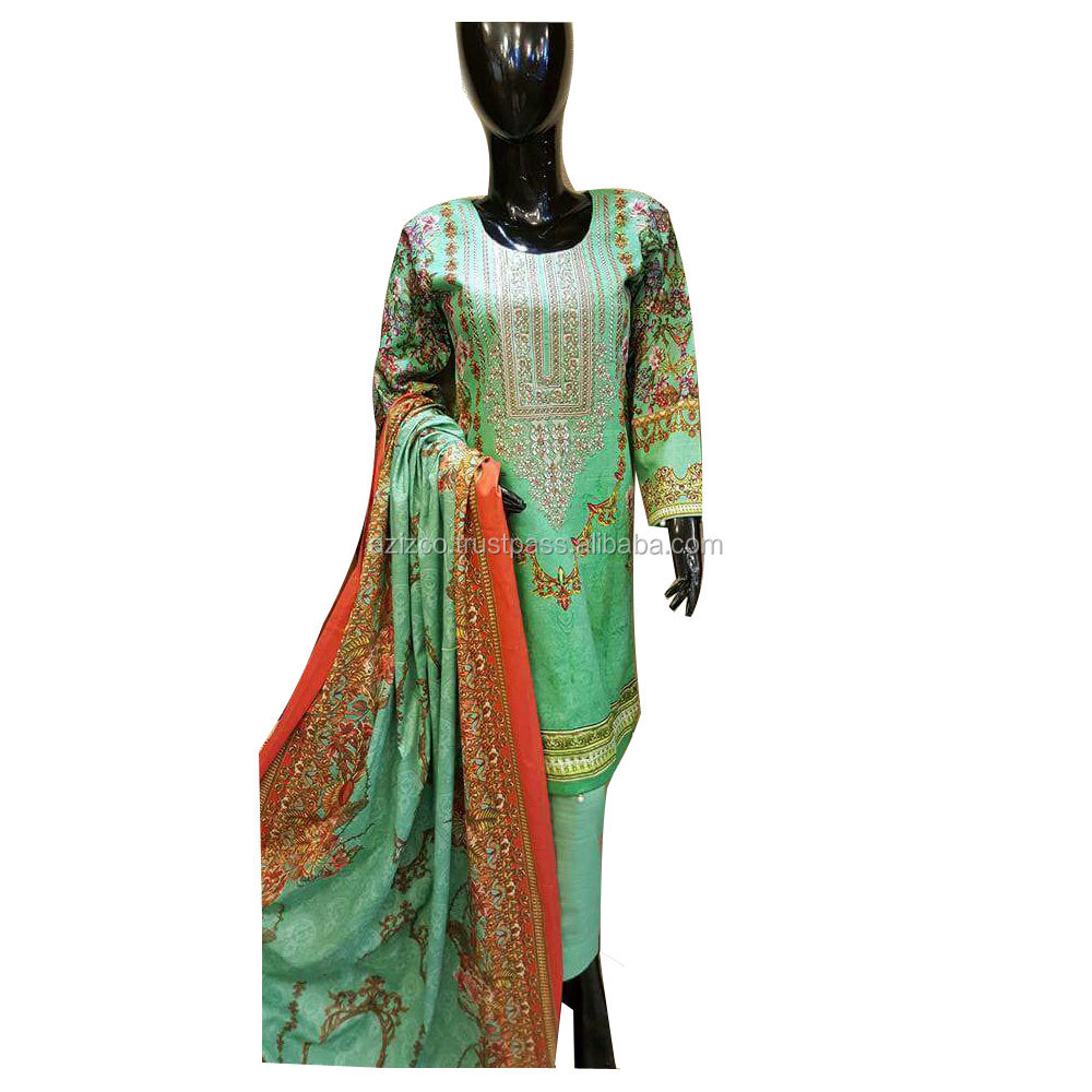 Thailand Shalwar Kameez For Girls\Casual Wear Dress