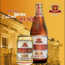 Wholesales Ha Noi Beer/ Famous Brand High-Quality Ha noi Beer 450ml