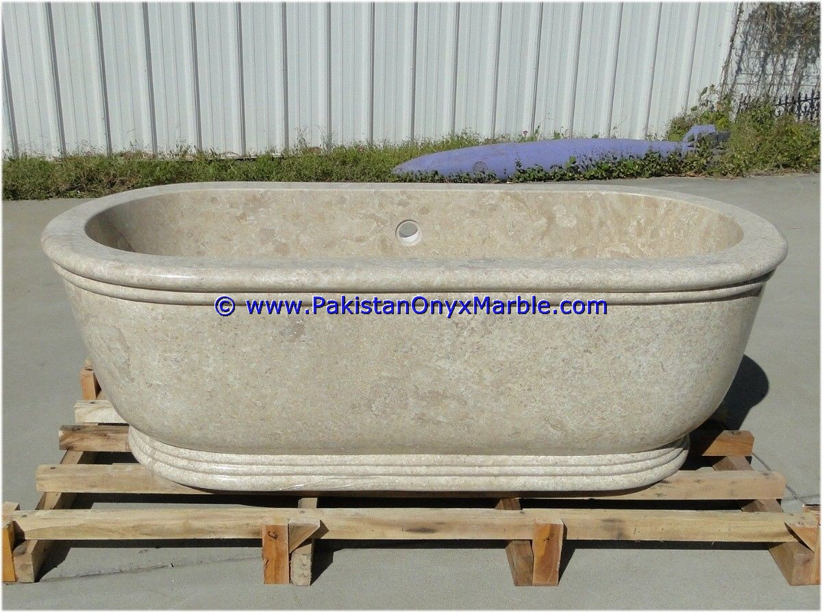 Handcarved in pure Natural Marble Stone/MARBLE BATHTUBS
