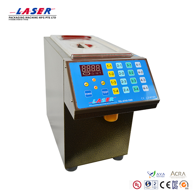 High quality-smart sugar syrup drawing machine