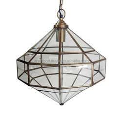 Glass Geometric Chandelier/Pendant Lights