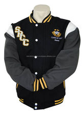 Custom made cotton varsity jacket coloring varsity jacket kids varsity jackets