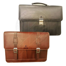Horse Leather Laptop Bag Mens Leather Messenger Bag