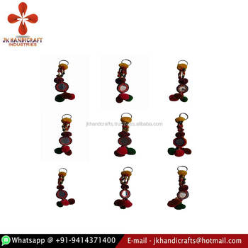Wholesale Handmade Banjara Kutchi Colorful Tassels Key-Chains