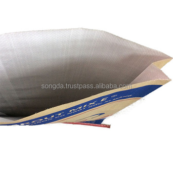 Made in Viet Nam brown kraft paper bag for cement, clinker