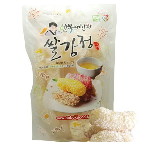 Korea High Quality Sweet Desserts Rice Cracker Gangjeong