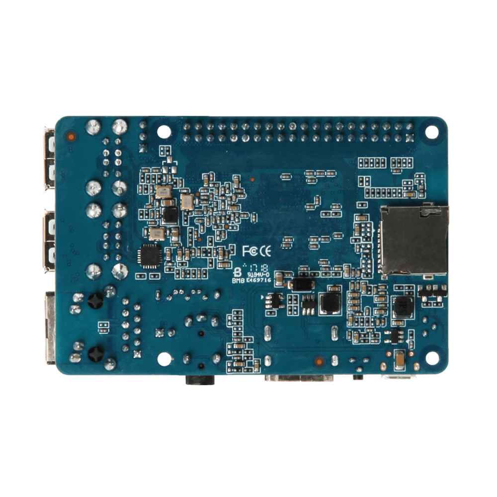 Quad Core Mini PC Banana PI Berry BPI-M2 Berry faster than Wifi Raspberry PI 3