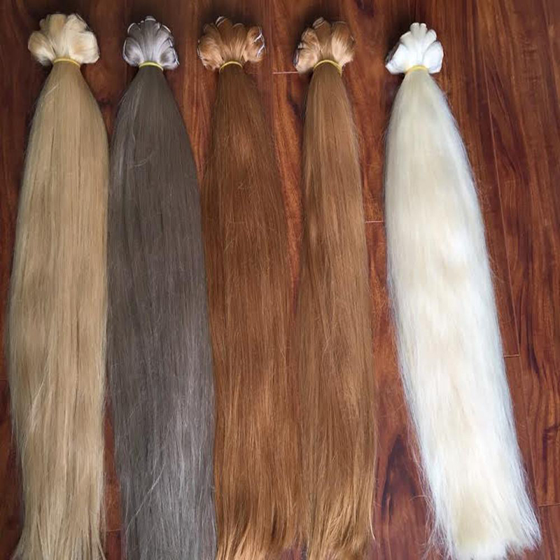 Hair Extension Color 613 Blonde 100% High Quality Human Hair