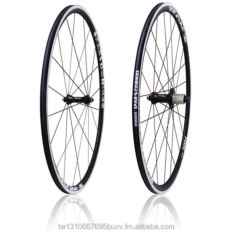 High performance alloy clincher 700c wheelset for road bike