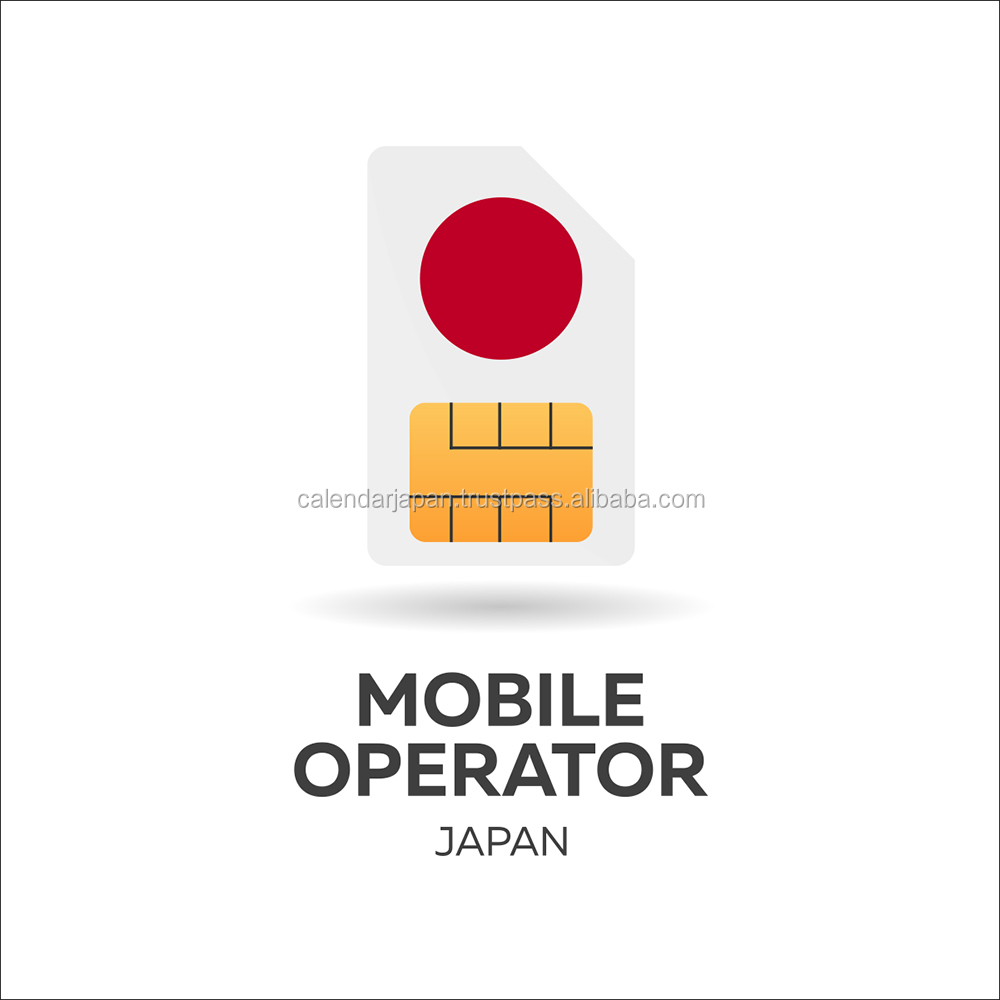 Easy to use and Reliable wifi mobile japan sim at Low-cost , small lot order available