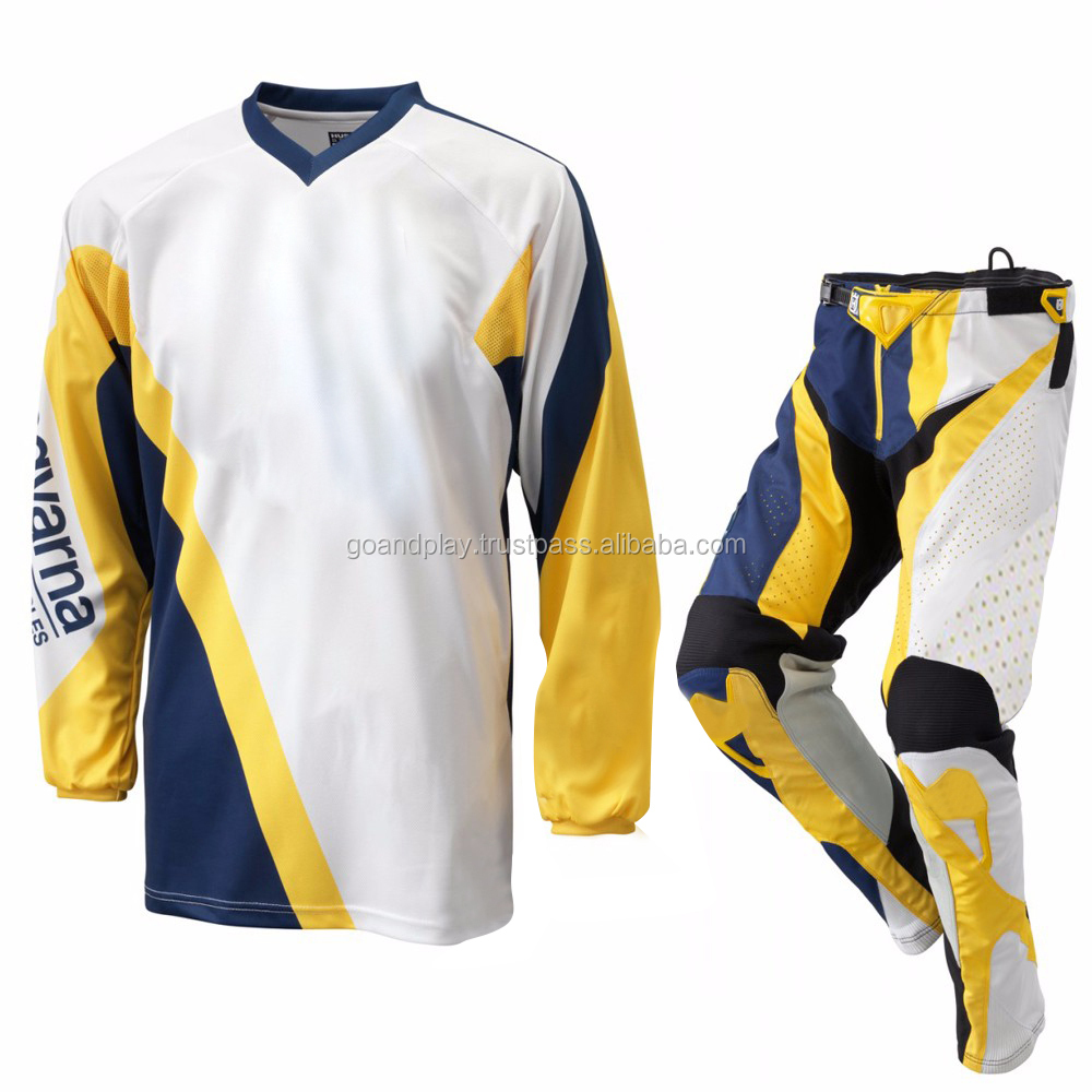 2018 Custom Mx Jersey Pants/Motocross Dirt Bike Gear/Set Motocross Jersey and Pant Off-Road
