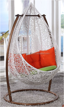 2017 Hot Sale Blob Wicker/Rattan Hanging Patio Swing Chair Rattan Furniture Blob Hanging Chair