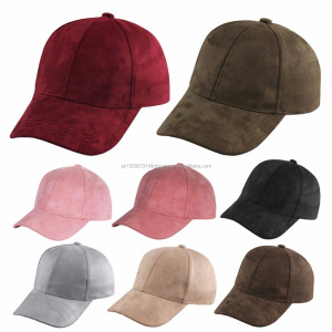Suede Baseball Caps Custom Street Hip Hop Snapback Hat For Mens Womens