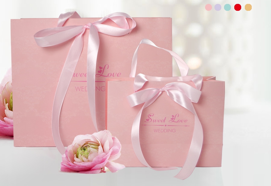 Customed Printed Gift Packaging Shopping Paper Bag