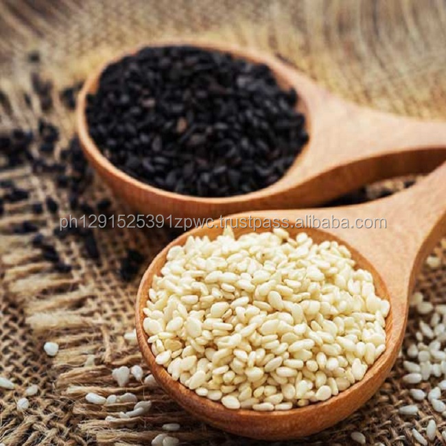 Roasted black or white sesame seeds with high quality