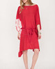 Women's New Red tie dye cover ups dresses
