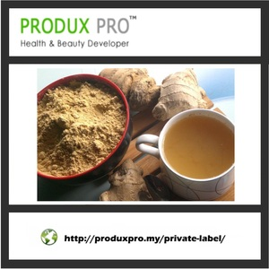 Private Label Premium Instant Ginger Tea Powder with White Sugar or Brown Sugar for Stomach Warming