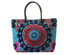 Handbag Indian Tote Shoulder Bag Tribal Vintage suzani embroidery women ethnic hand made hippie boho bags