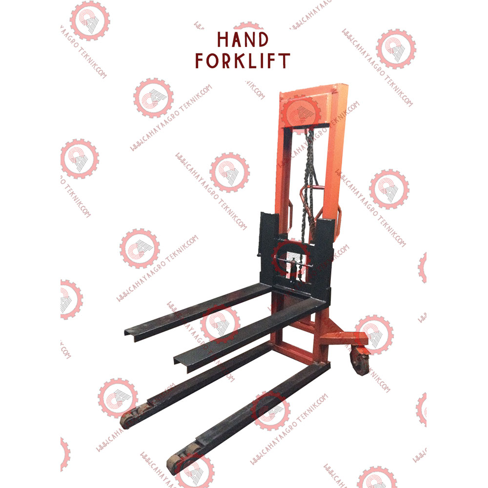 Hot Selling Manual Hand Mini Size Forklift