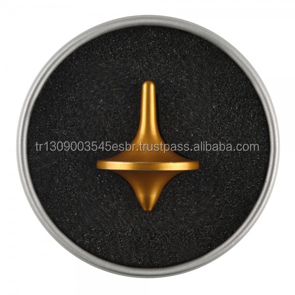 TurnexTop Spinning Top Golden