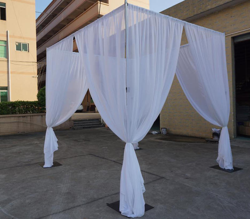 ceiling drape fabric wedding backdrop drapes and pole systems