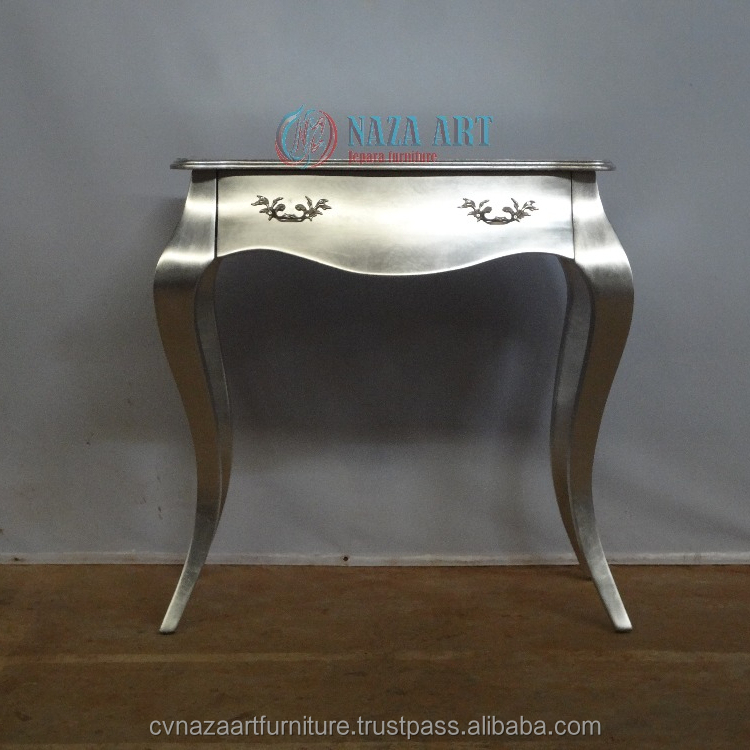 Cheap French Silver Console Table for House
