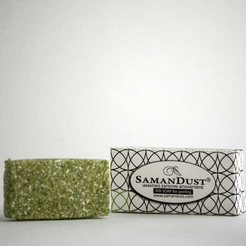 SAMANDUST Luxury Hotel Spa Soap for Peeling - Handmade Soap for Skin Care - Beauty Personal Care for Hand , Face , Foot & Hair