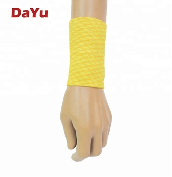 Sporting Wrist Support,  Space-dyed compression wrist support,  Made in Taiwan