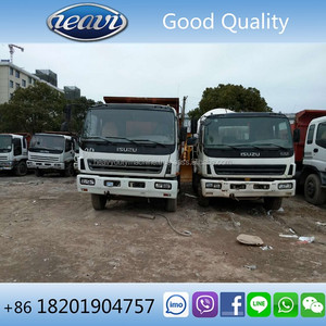 Good quality low price 6x4 Japan used isuzu dump truck for Philippines
