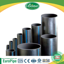 DIN, CE, ISO Qualified HDPE Pipes EU Standard