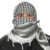 Middle eastern arabic desert dwellers outdoors-man survivalist army soldier mens head scarf shemagh