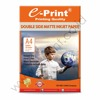 Double Side Matte Inkjet Paper A4 220gsm 50Sheets