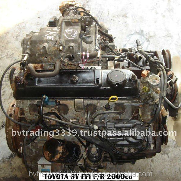 USED JAPANESE ENGINE TOY 3Y FR AT EFI