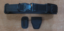 Police and Military Duty Belt durable Tactical Security Duty Belt with pouch