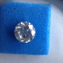 1.01Ct Certified Real Natural Round Cut Diamond I3/ H Color at Best Offer Price