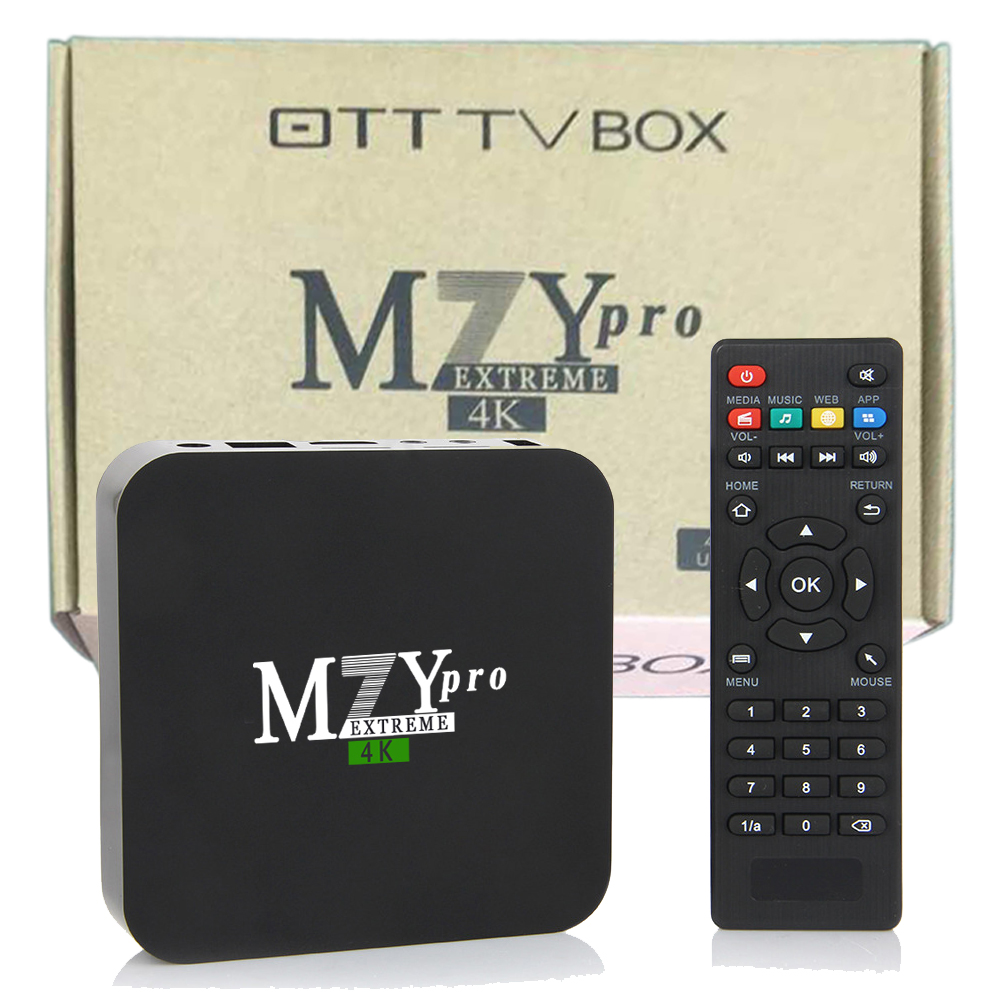 MZY Extreme Pro 4k S905X Quad Android 6.0 TV Box 8GB
