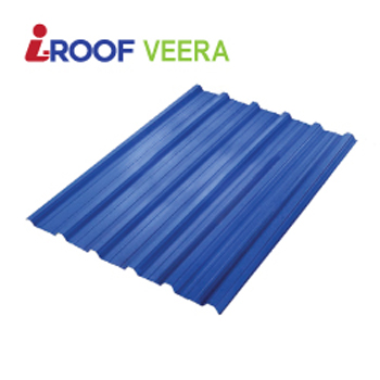 3 Layers ASA , PVC Factory Profile Roofing Sheet / plastic roofing tile