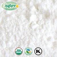 ORGANIC CERTIFIED COCONUT MILK WHITE POWDER NATURAL FLAVOR