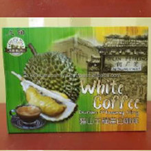 Premium High Quality Musang King Durian 3 in 1 Instant White Coffee Made in Malaysia