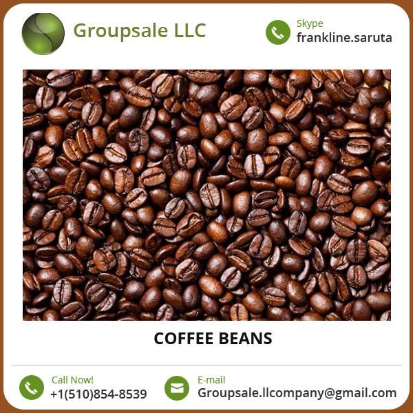 Delicious/ Refresh/ Hygienic/ Healthy Raw Coffee Beans at Low Price